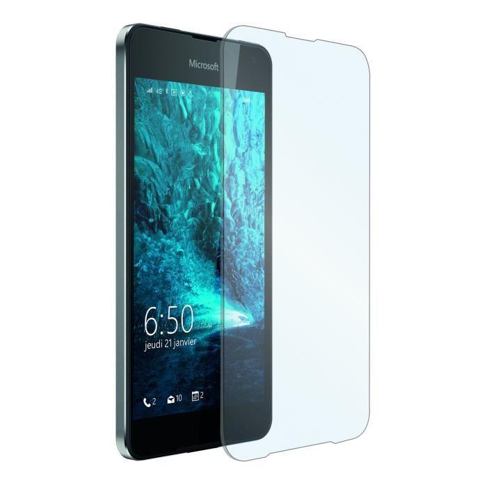 muvit 1 film verre trempe microsoft lumia 650 achat film protect t l phone pas cher avis et. Black Bedroom Furniture Sets. Home Design Ideas