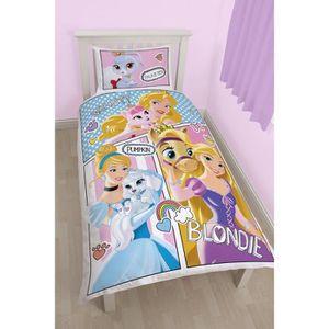 housse de couette 200x200 princesse achat vente housse. Black Bedroom Furniture Sets. Home Design Ideas