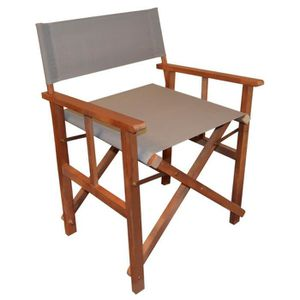 fauteuil metteur en scene achat vente fauteuil metteur en scene pas cher cdiscount. Black Bedroom Furniture Sets. Home Design Ideas