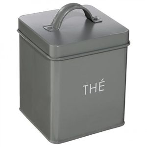 boite de rangement metal achat vente boite de rangement metal pas cher cdiscount. Black Bedroom Furniture Sets. Home Design Ideas