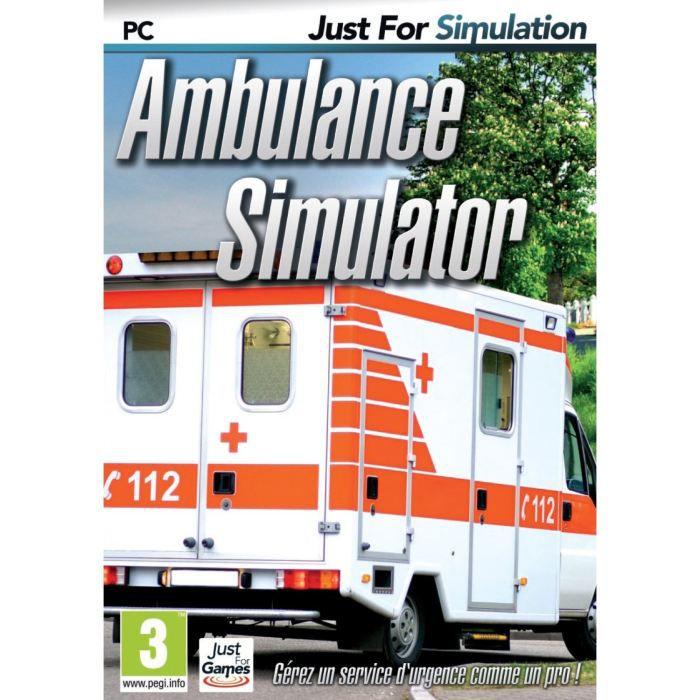 ambulance simulator jeu pc achat vente jeu pc ambulance simulator jeu pc cdiscount. Black Bedroom Furniture Sets. Home Design Ideas