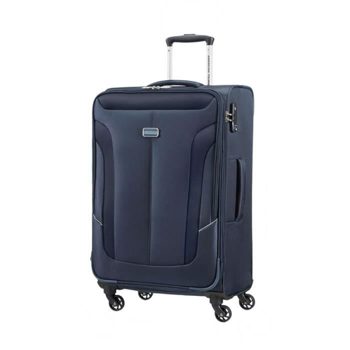 valise toile american tourister 4 roues taille m 68cm collection coral bay achat vente. Black Bedroom Furniture Sets. Home Design Ideas