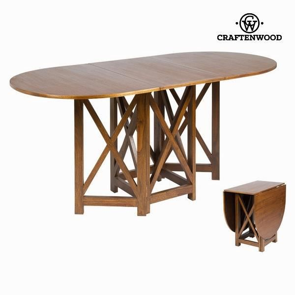 Table rabats couleur noyer collection serious line by - Mesas libro de comedor ...