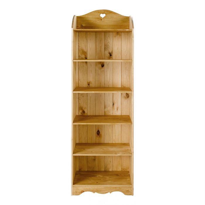 etag re rustique en pin 6 niveaux achat vente meuble tag re etag re rustique cdiscount. Black Bedroom Furniture Sets. Home Design Ideas