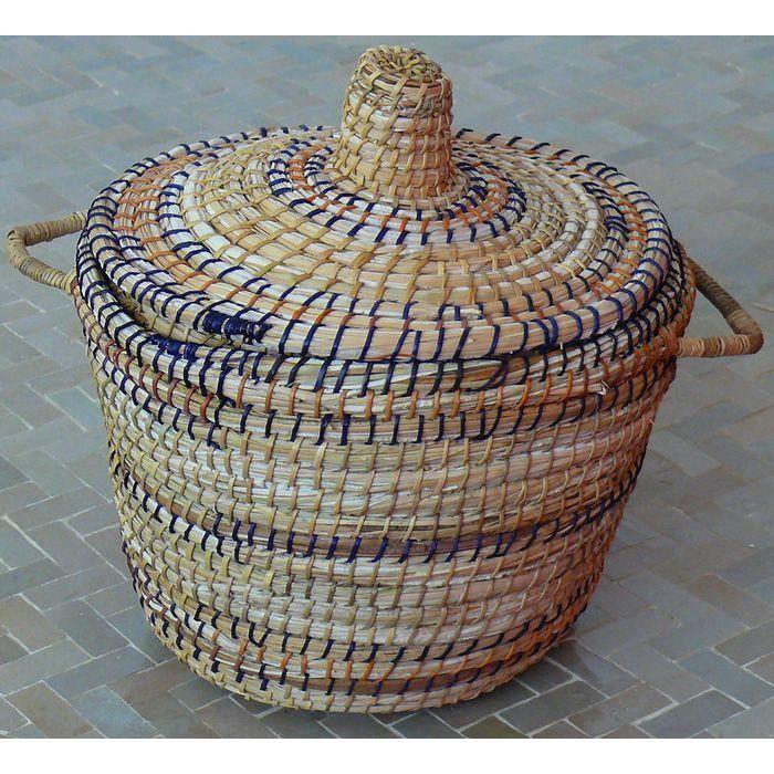 Panier en osier avec couvercle achat vente panier sac de plage 4250672603894 cdiscount - Panier en osier avec couvercle ...