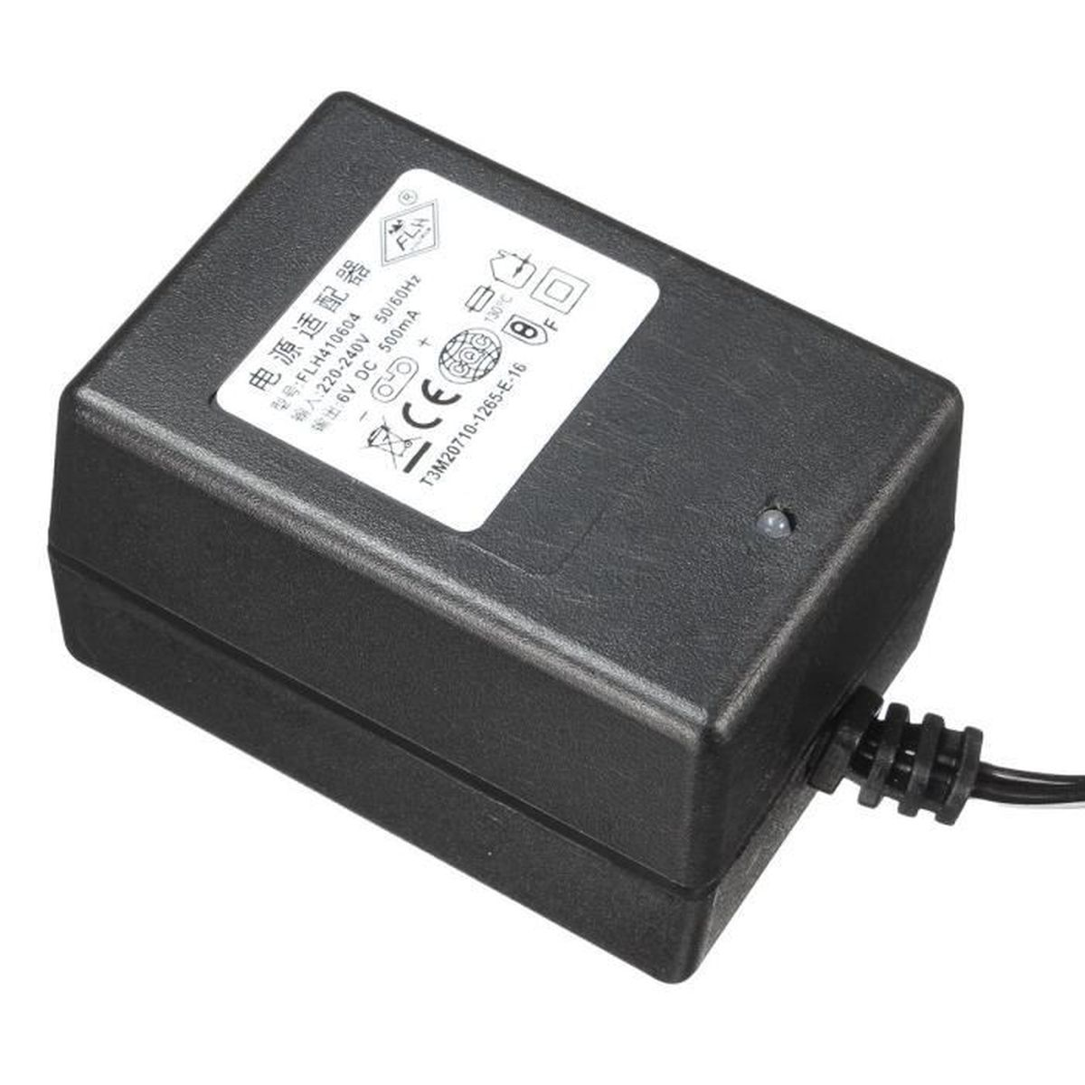 puissance adaptateur batterie chargeur 2 pin pour enfant voiture jouet dc 6v achat vente. Black Bedroom Furniture Sets. Home Design Ideas