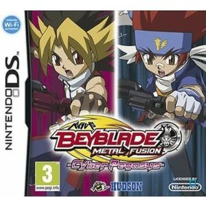 JEU DS - DSI BEYBLADE + TOUPIE EXCLUSIVE DS