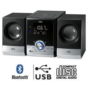 AEG MC 4461 Chaîne HiFi CD Bluetooth MP3
