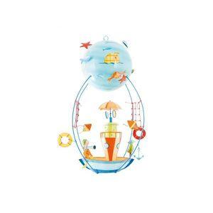 MOBILE L\'oiseau bateau - SCH0013 - Le bateau-phare