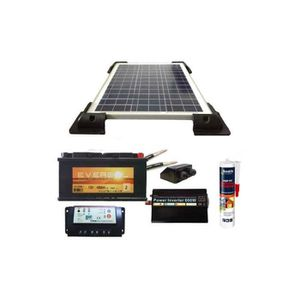 panneau solaire pour caravane achat vente panneau. Black Bedroom Furniture Sets. Home Design Ideas