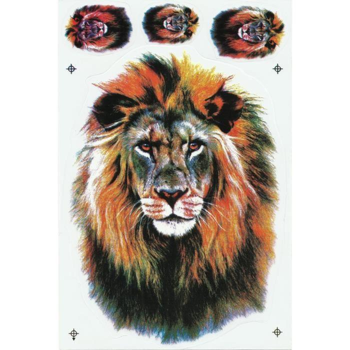 Stickers tete de lion achat vente stickers tete de for Prix poisson rouge tete de lion