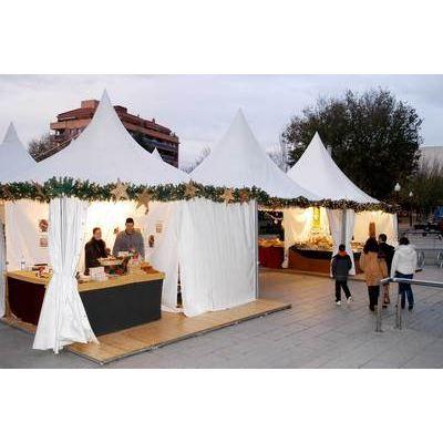Tente De Reception Pagode Ultra Pro 3x3 M Blanc Achat Vente Tonnelle Barnum Tente De