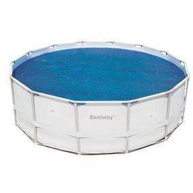 B che solaire piscine diam 410 bestway achat vente for Bache solaire piscine