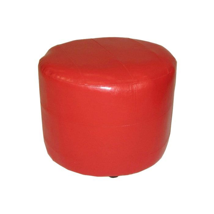 pouf ronda pu rouge achat vente pouf poire cdiscount. Black Bedroom Furniture Sets. Home Design Ideas