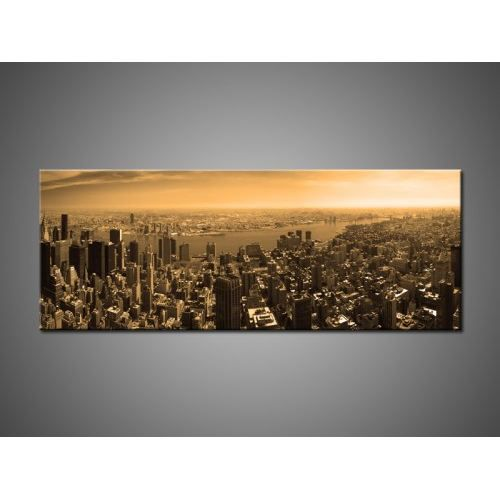 Tableau toile new york area 2 achat vente tableau for Tableau toile new york