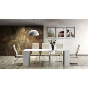 Console meubles achat vente console meubles pas cher - Console extensible blanc laque pas cher ...