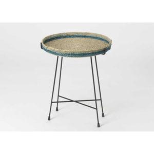 bout de canape en metal achat vente bout de canape en metal pas cher les soldes sur. Black Bedroom Furniture Sets. Home Design Ideas