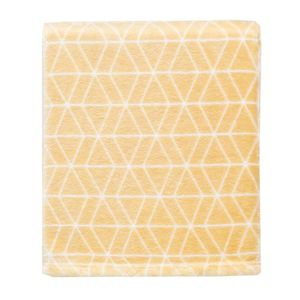 plaid jaune achat vente plaid jaune pas cher. Black Bedroom Furniture Sets. Home Design Ideas