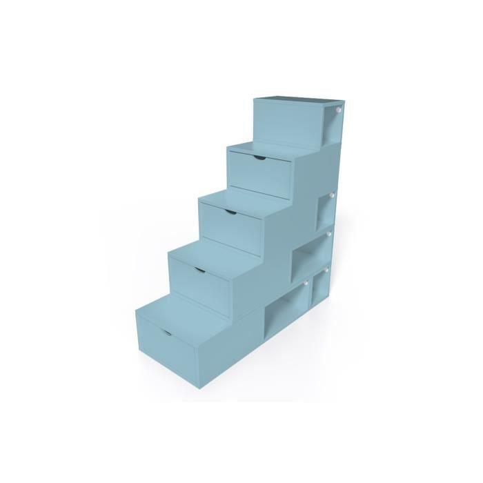 Escalier cube de rangement hauteur 125 cm achat vente - Cube de rangement salle de bain ...