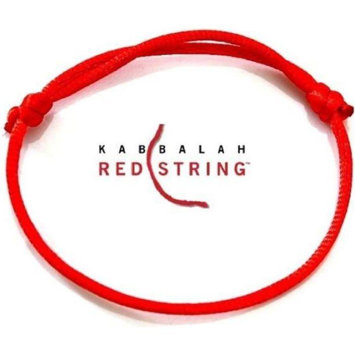 MONTRE authentique bracelet reglable fil rouge de kabbale