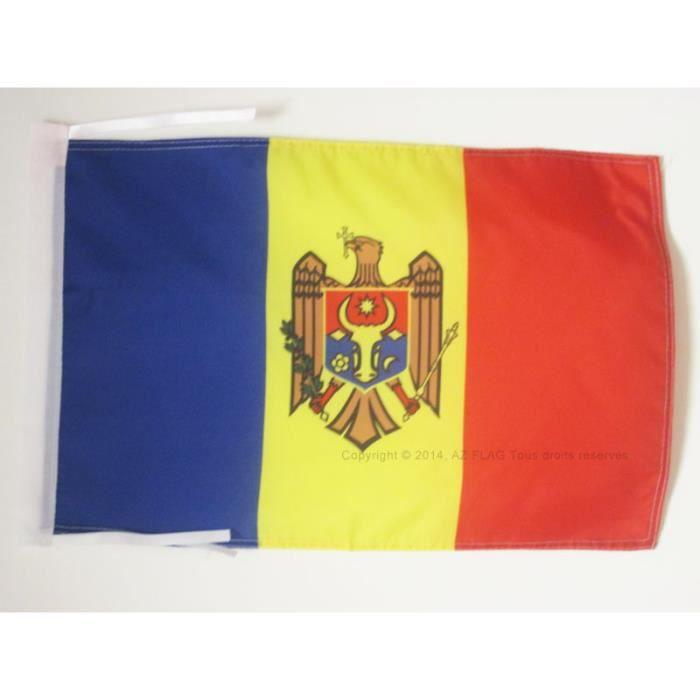 Drapeau moldavie 45x30cm moldave haute qualit achat for Linge de maison haute qualite