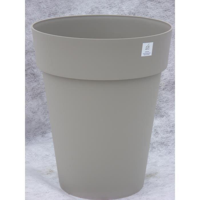 Vase toscane diam 44 hauteur 53 moka achat vente for Jardiniere hauteur 1 metre