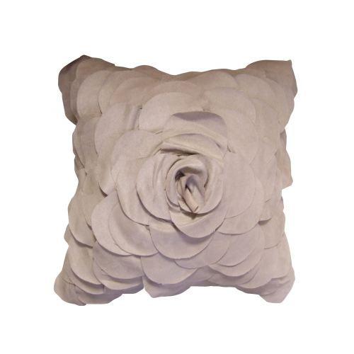 coussin d coupes p tales de fleurs lin 45 x 45cm achat vente coussin cdiscount. Black Bedroom Furniture Sets. Home Design Ideas