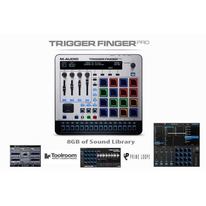17729150 furthermore 400062 Your Home Studio in addition Index php as well Are You More Like Woody Or Buzz 1624q further Udg Ultimate Digi Headphone Bag Dark Blue. on trigger finger pro m audio