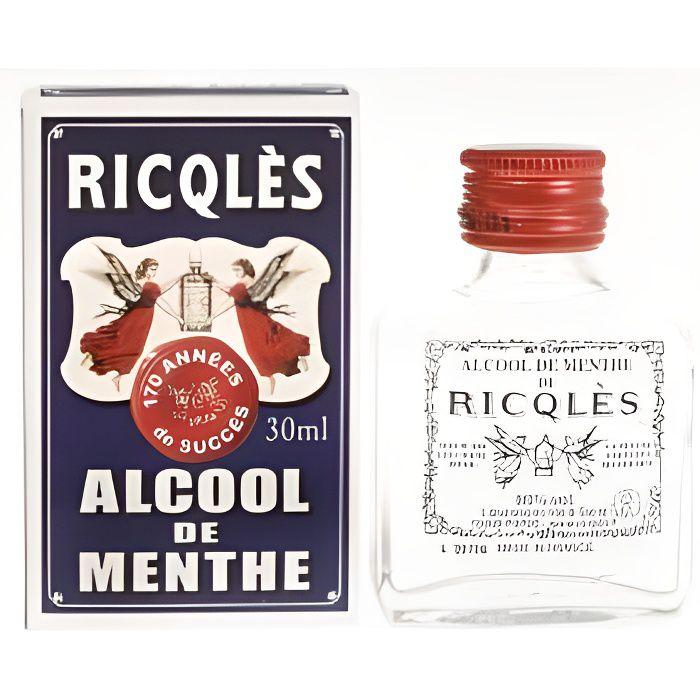 Ricqles alcool de menthe forte 30 ml achat vente for Alcool de menthe fait maison