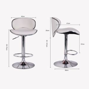 chaise bistrot blanc achat vente chaise bistrot blanc pas cher cdiscount. Black Bedroom Furniture Sets. Home Design Ideas