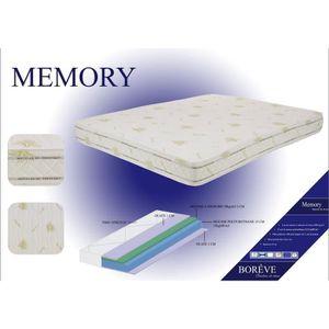 matelas memory m moire de forme bor ve 140x190 cm achat vente matelas c. Black Bedroom Furniture Sets. Home Design Ideas