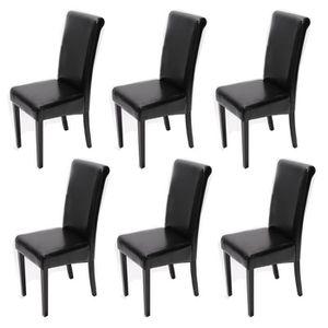 Chaises modernes lot de 6 achat vente chaises modernes for Chaise sejour cuir