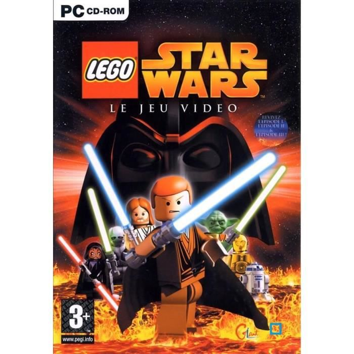 lego star wars jeu pc cd rom achat vente jeu pc lego star wars pc cdiscount. Black Bedroom Furniture Sets. Home Design Ideas