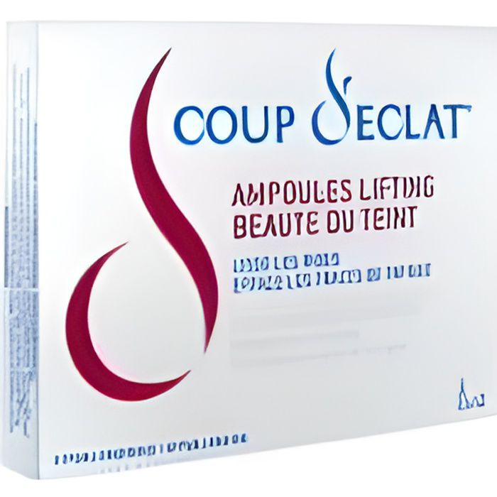 Coup d 39 eclat 12 ampoules lifting achat vente anti ge anti ride coup d 39 eclat 12 ampoules - Coup d eclat ampoule lifting ...
