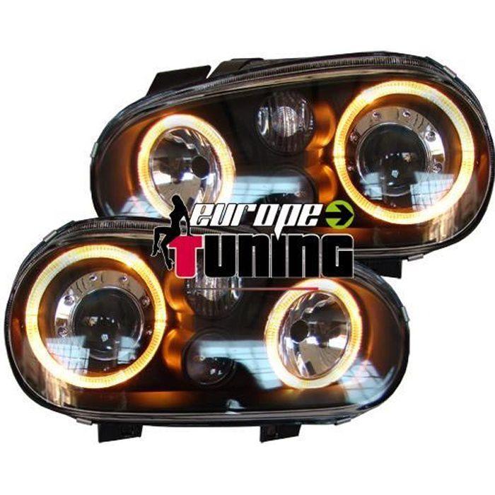 phare avant design pour volkswagen golf iv 97 03 achat vente phares optiques phare avant. Black Bedroom Furniture Sets. Home Design Ideas