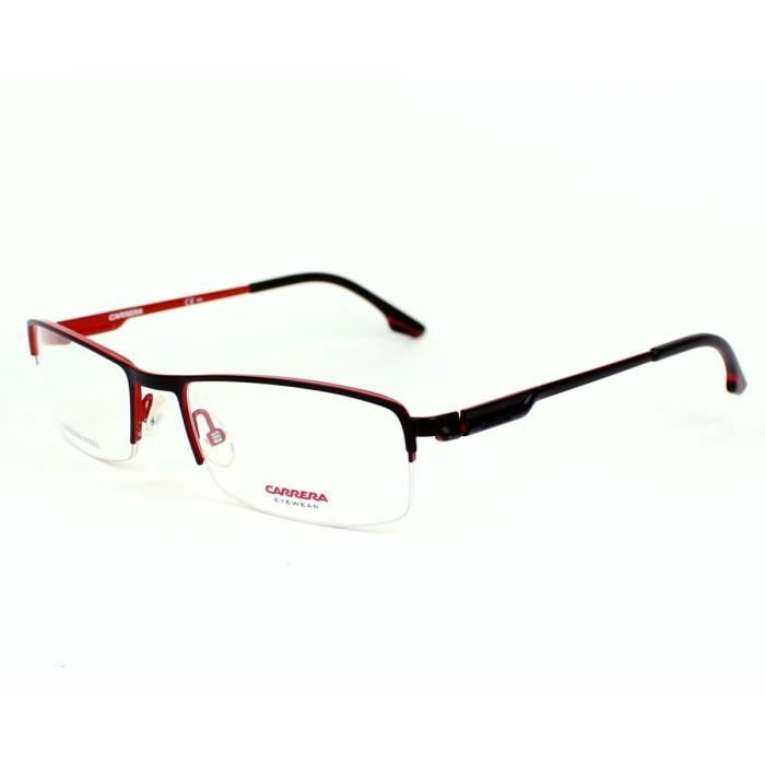 lunettes de vue carrera ca 7589 iam noir rouge noir rouge achat vente lunettes de vue. Black Bedroom Furniture Sets. Home Design Ideas