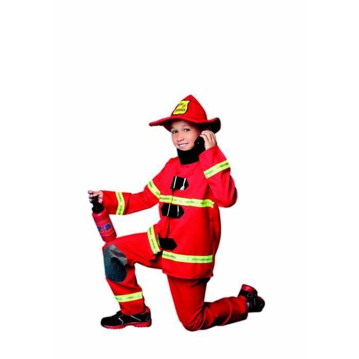 d guisement pompier gar on 8 10 ans achat vente d guisement panoplie cdiscount. Black Bedroom Furniture Sets. Home Design Ideas