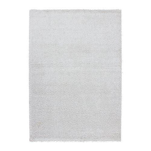 Lalee 347254910 tapis pais avec lurex blanc polyester blanc 120 x 170 cm achat vente - Tapis epais bebe ...