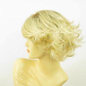 perruque femme courte lisse blonde FLORE YS