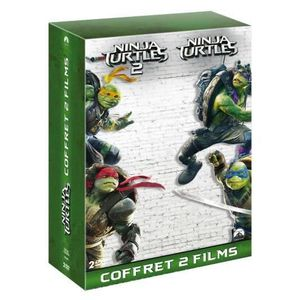 DVD FILM DVD Coffret Ninja Turtles + Ninja Turtles 2