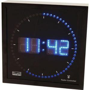 Horloge murale numerique achat vente horloge murale numerique pas cher les soldes sur for Horloge led murale