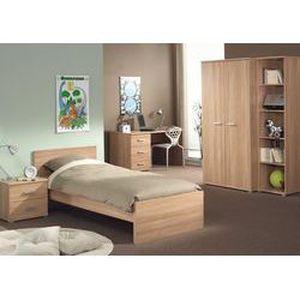 chambre coucher enfant compl te vivian color achat vente lit complet chambre coucher. Black Bedroom Furniture Sets. Home Design Ideas