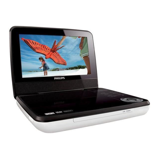 chargeur lecteur dvd portable philips pd7030 12 prix pas. Black Bedroom Furniture Sets. Home Design Ideas