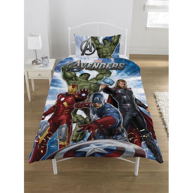 parure de lit avengers vert achat vente parure de lit b b 5055285333898 cdiscount. Black Bedroom Furniture Sets. Home Design Ideas