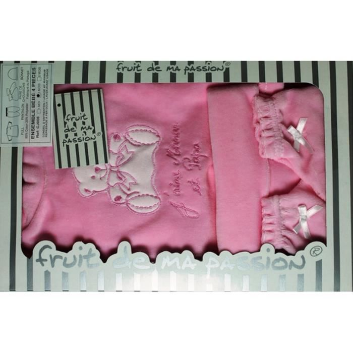 coffret naissance bebe 0 3 mois 4 pi ces idee cadeau naissance maternit cn4pvl rsjpm. Black Bedroom Furniture Sets. Home Design Ideas