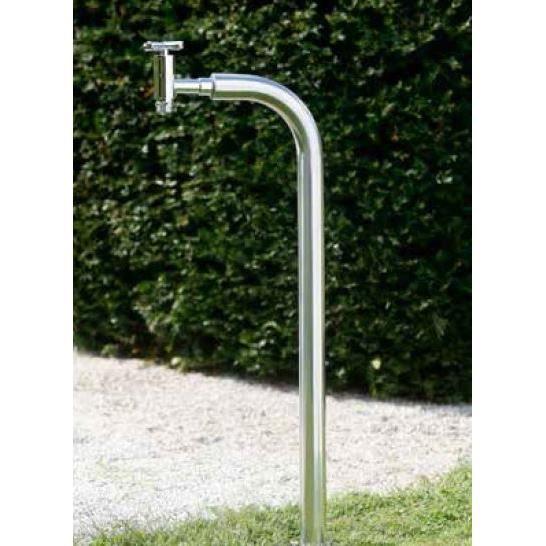 Borne en inox avec robinet achat vente robinet for Robinet d arrosage jardin