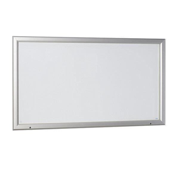 Office akktiv vitrine d 39 affichage cadre aluminium pour for Porte ouvrant exterieur