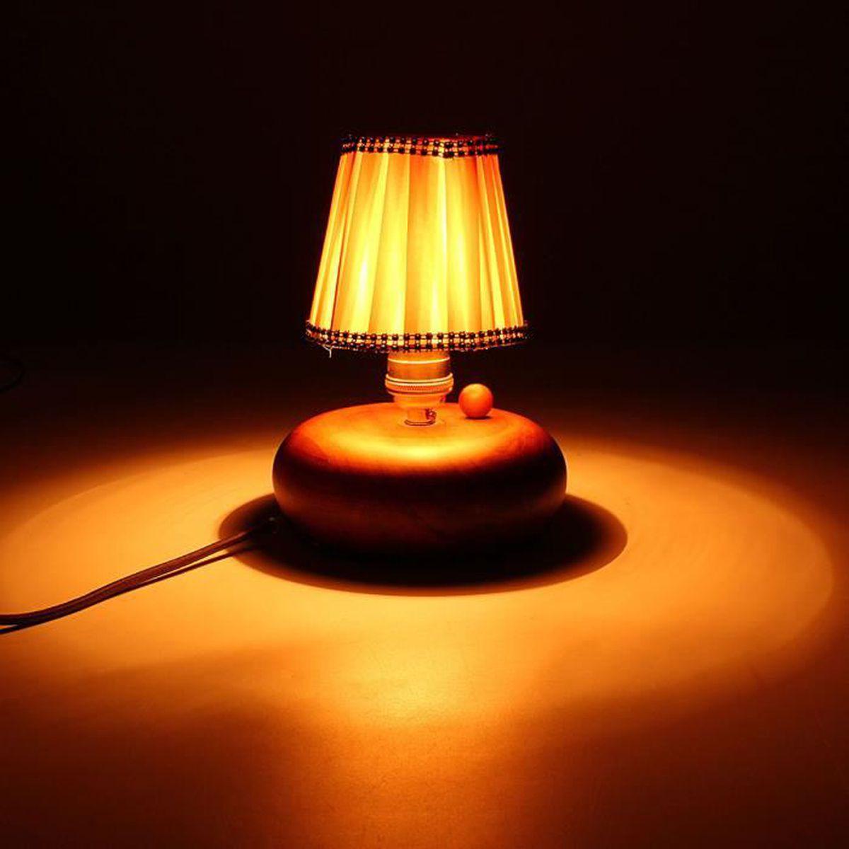 u abat jour pour lampe de chevet tissu table chambre abricot achat vente u abat jour pour. Black Bedroom Furniture Sets. Home Design Ideas