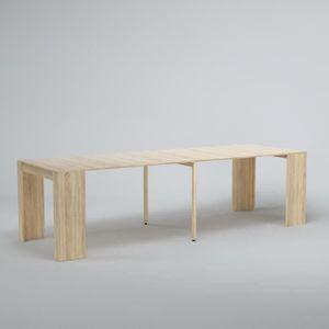 CONSOLE EXTENSIBLE GOOMY Table console extensible de 8 à 10 personnes