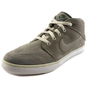 BASKET Nike Suketo Mid Leather Daim Baskets